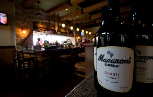 Inside Romano's Macaroni Grill at Queens' MarketPlace at Waikoloa Beach Resort