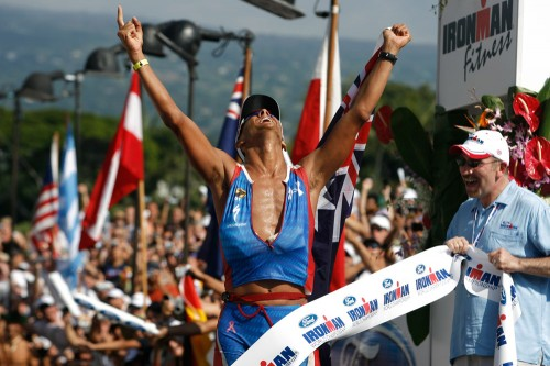 Chris McCormack winner of the 2008 Ford Ironman World Championship in Kona. (Photo by: Bakke-Svensson/Ironman)