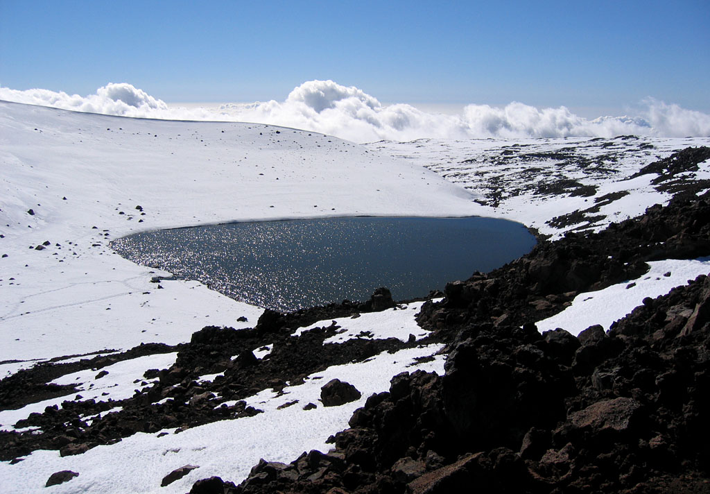 Lake Waiau on Mauna Kea. Hawaii 24/7 File Photo
