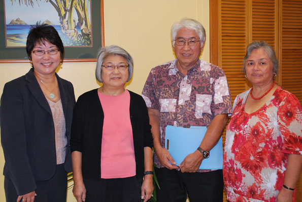 Ronald and Irene Nagata are helping Big Island youth reach their education goals. The couple, along with their three children, attended University of Hawaii.