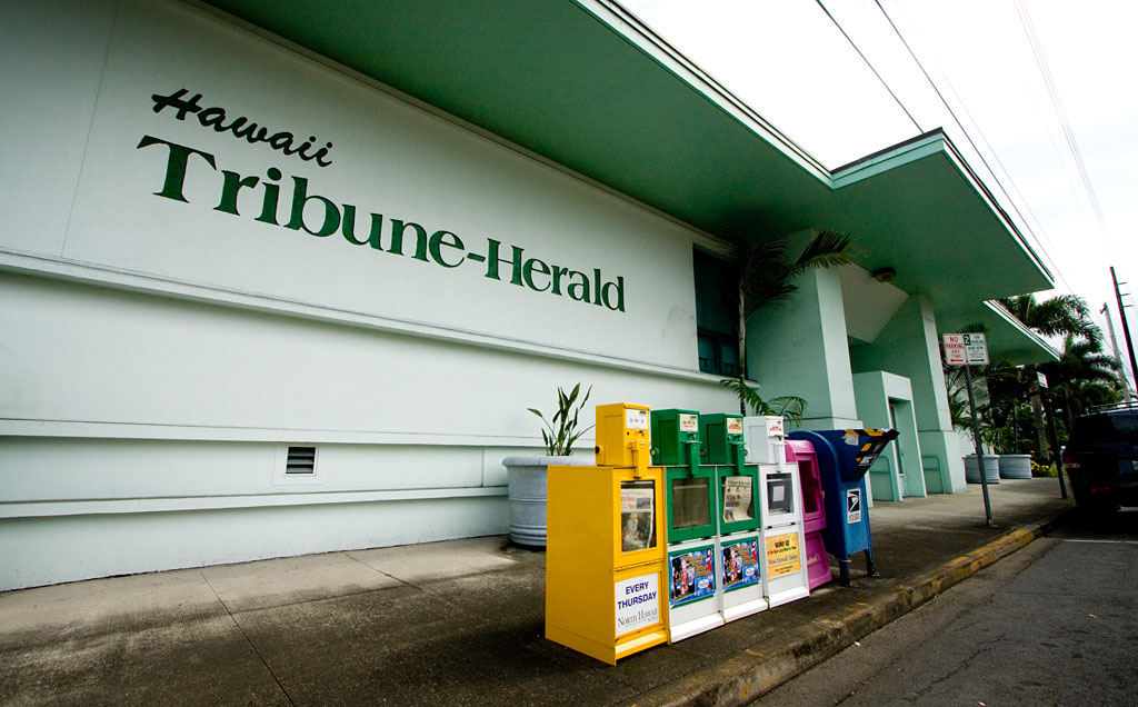 Agreement to acquire the Hawaii Tribune-Herald, West Hawaii Today expected to completed Dec. 1