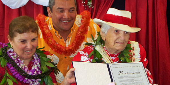 Hilo treasure dedicated her life to perpetuating Hawaii culture through hula and her beloved Merrie Monarch festival