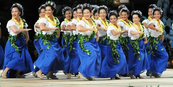Competition features 265 halau from four islands, California; Miss Aloha Hula kicks off hula weekend April 4