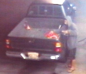 Surveillance video image