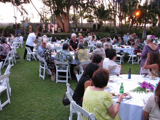 Reception at Keauhou Beach Resort lauds new Bishop Holdings Corporation president