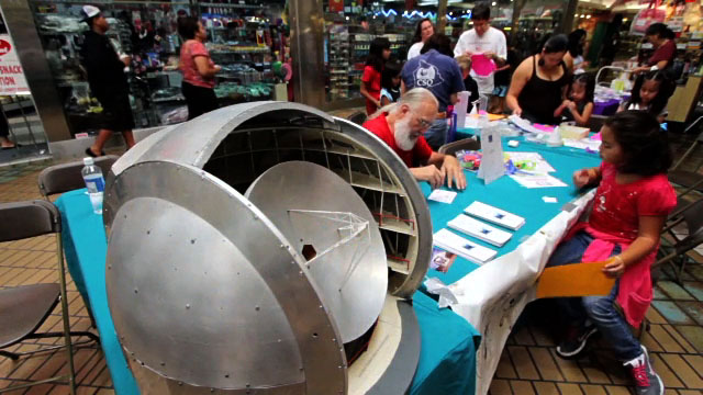 The 10th Annual AstroDay celebrated astronomy, Hawaiian culture and music at the Prince Kuhio Plaza Saturday (May 7).