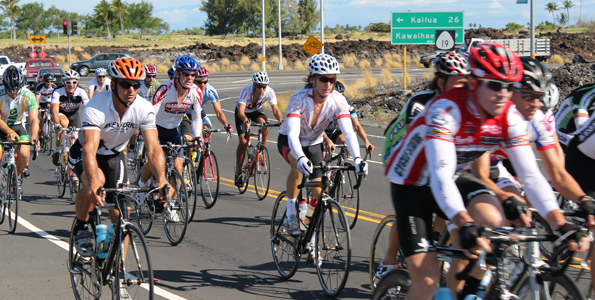 Honolulu cyclist knocks 22 minutes off the record; Tanimoto keeps women's title on Big Island