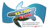 KAHU 91.7 FM feels sting as tower comes down