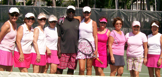 Pink Martinis heading to tennis championships (May 19)