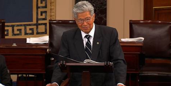 Akaka: 'My goal was to bring the spirit of aloha to our nation's capital in everything I do'