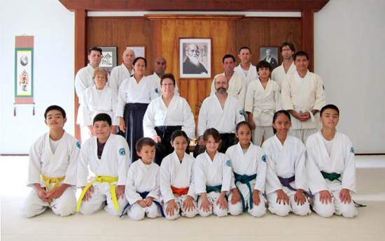 Aikido of Hilo begins year by 'opening the mirror'