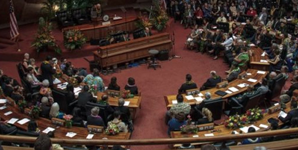 The 27th Legislature of Hawaii opens