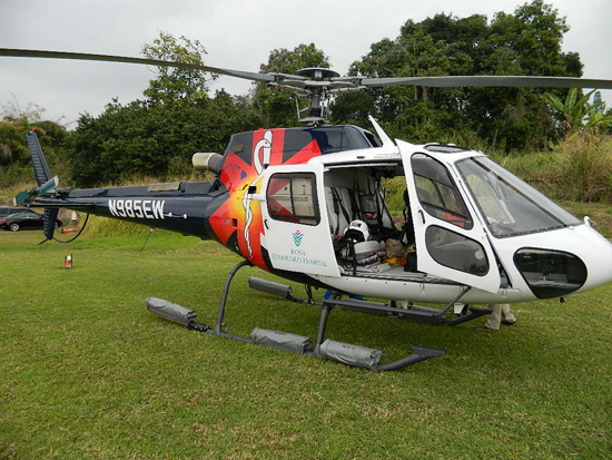 Kona Community Hospital's American Eurocopter AS350 Be