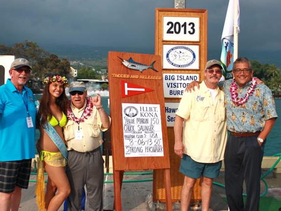 Laguna Niguel Billfish Club 2 tags lead on Day 2