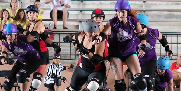 Paradise Roller Girls formed in 2010; Big Isle now boasts three leagues