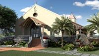 Support rebuilding St. Michael's at Waikupua Brick Garden