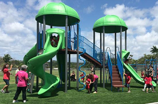 Waiakea Uka playground opens