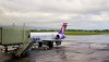 Hawaiian Airlines jet at Hilo International Airport. Hawaii 24/7 File Photo