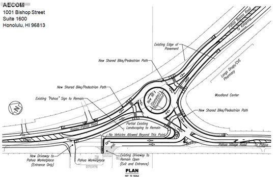 Pahoa roundabout pre-construction to begin September