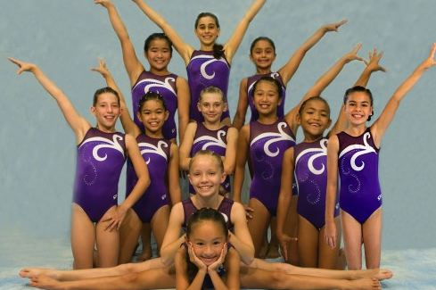 Big Isle athletes score big in gymnastics meet
