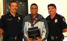 Police honor heroes