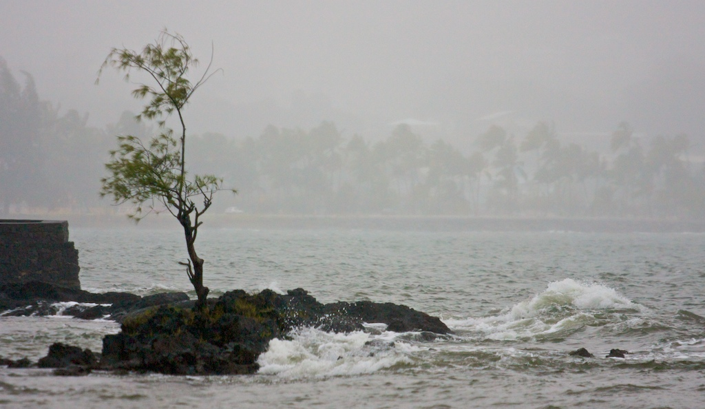 The National Weather Service has issued a high surf advisory for north and east shores of the Big Island.