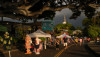 The dark clouds stayed mauka as the sun set Sunday over the Kokua Kailua Village Stroll.