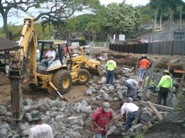 Kamakana playground renovations underway