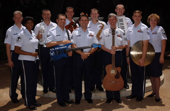 Two shows by USAF Band of the Pacific