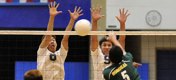 Waiakea Warriors were too much for Honokaa Dragons Thursday night as they win in straight sets