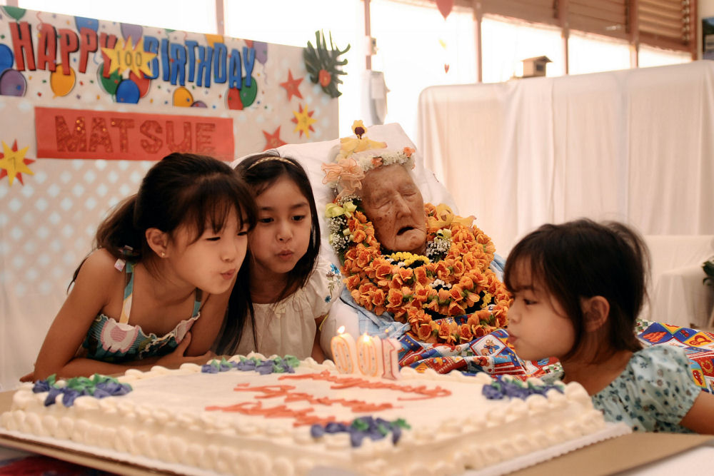 Centenarian's birthday celebrated in Hilo