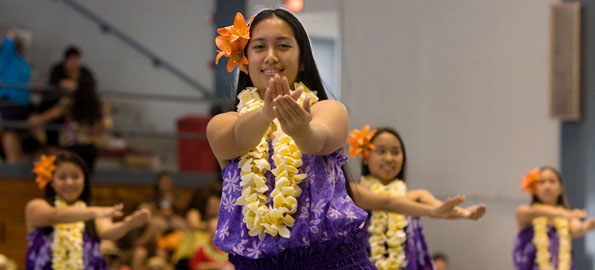 The annual Merrie Monarch Festival Hoolaulea treated the public to music and hula at Afook-Chinen Civic Auditorium Sunday