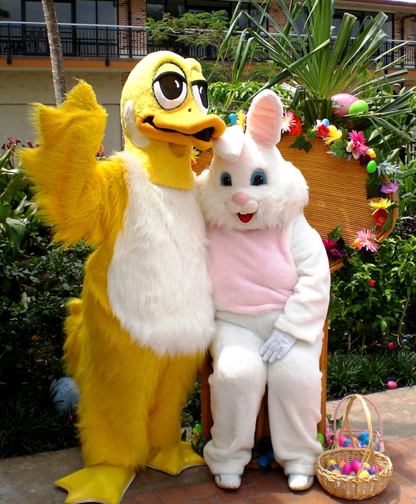 Easter egg hunt on at Queens' MarketPlace