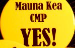 Sign wavers to support Mauna Kea Comprehensive Management Plan