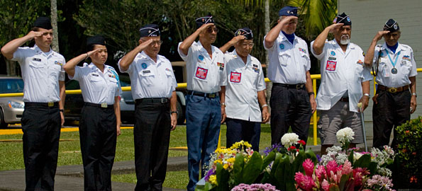 Images from Memorial Day at East Hawaii Veterans Cemetery.