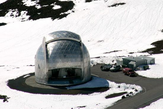 California Institute of Technology Submillimeter Telescope (Baron Sekiya/Hawaii247.com)
