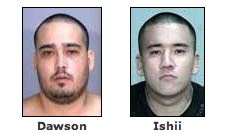 Two men wanted by police found