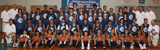 The Class of 2009. (Photo courtesy of Hawaii Island Hoops)