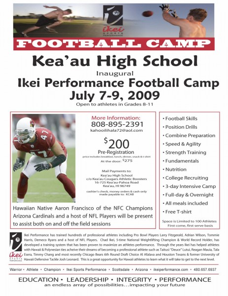 keaau-high-football-camp