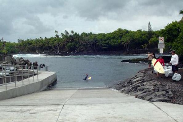 State dedicates Pohoiki Boat Launch Ramp