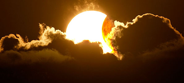 A partial solar eclipse will be viewable from Hawaii starting at 5:24 p.m. HST and be over by 6:16 p.m. Times will vary slightly depending upon where you are in Hawaii and the ability to see it will depend upon your view of the sky along with weather conditions