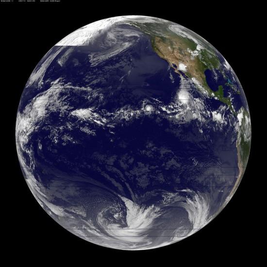 Image courtesy of NASA-GOES Project