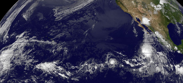 Hurricane Carlos may soon have company in the form of another named storm in the Eastern Pacific Ocean.