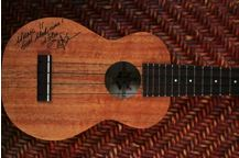Hawaii Performing Arts Festival auctions autographed Jake Shimabukuro ukulele
