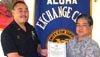 Kelii named Officer of the Month by Aloha Exchange Club