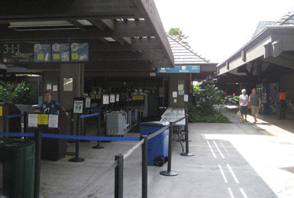 Kona Airport security lane to improve peak hour service