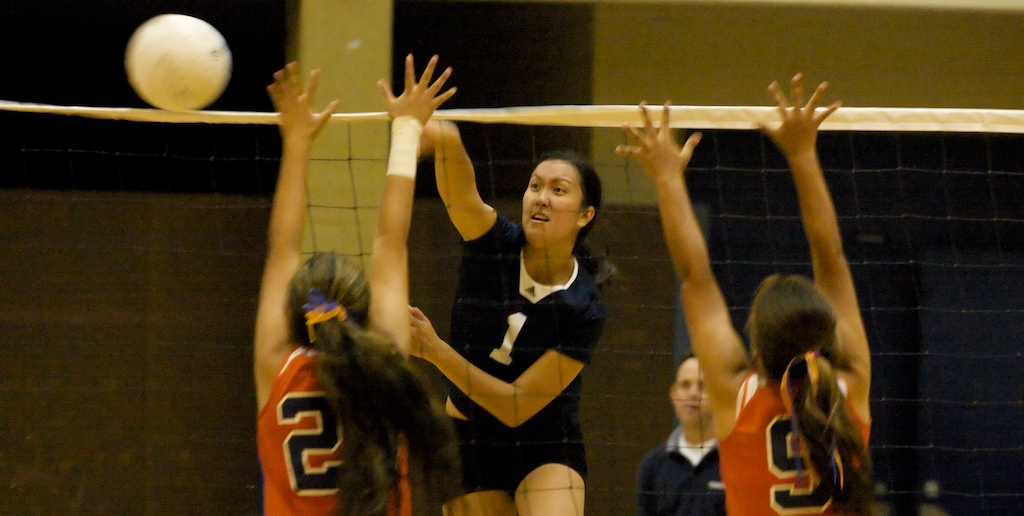 Waiakea wins in straight sets 25-11, 25-12, 25-9 over Christian Liberty Academy Monday night (Sept 14).
