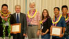 The Hawaii State Public Library System (HSPLS) announces the selection of their 2009 Employee of the Year and Team of the Year recipients, who were recognized and honored at the September 17 Board of Education Meeting at Queen Liliuokalani Building.