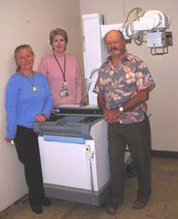 New radiology machine at Kohala Hospital will speed up care, provide better results. (Photo courtesy of Kohala Hospital Charitable Foundation)