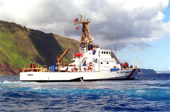 U.S. Coast Guard cutter back in Hilo after drydock